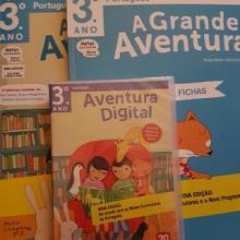 A Grande Aventura - Português 3º ano - Pack Manual+caderno de actividades+CD-Rom - Paula Melo e Marisa Costa...