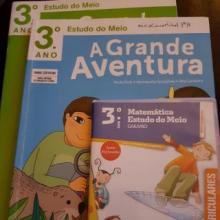 A GRANDE AVENTURA - ESTUDO DO MEIO 3º ANO - PACK MANUAL+CADERNO DE ACTIVIDADES+CD-ROM - Paula Pires