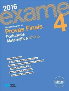 Preparação para as provas finais português e matemática 4.º ano - José Sousa Batista