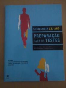 Sociologia - Preparação para os testes - Maria João Pais, Maria d...