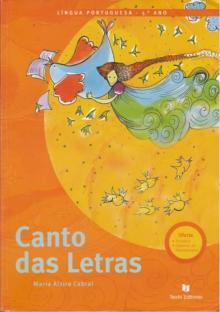 Canto das Letras (5º Ano - Língua Portuguesa) - Maria Alzira Cabral