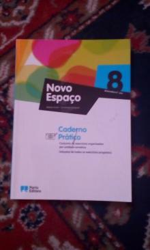 Novo Espaço 8 caderno atividades - Belmiro Costa / Ermelinda...