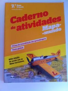 Caderno de Atividades Mapa Mundo - Arinda Rodrigues