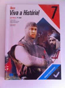 Novo Viva a História 7 - Cláudia Pinto Ribeiro, C...