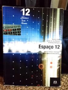 Livro Espaço 12 Matemática A - Belmiro Costa, Lurdes de ...