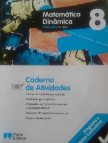 Matemática dinâmica 8(caderno atividades) - Luísa Faria