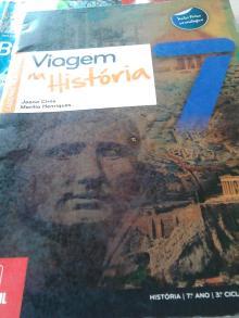 Viagem na História 7(caderno atividades) - Joana Cirne