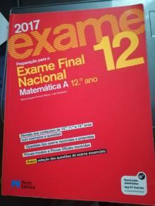 Preparação para o exame nacional Matemática A 12º ano - Maria Augusta Ferreira Ne...