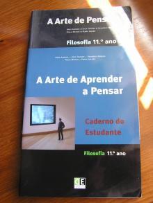 A Arte de Pensar Volume 1 + Volume 2 + Caderno de Actividades - Filosofia 10º Ano