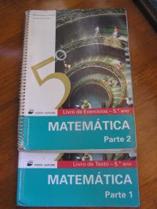 Matemática 5º Ano - Parte 1 Livro de Texto - Parte 2 - Livro de Exercícios