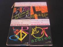 4 Compêndios de Matemática – 1º ano/ 2º ano / 3ª ano - Maria Madalena Garcia, Al...