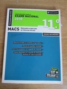 Preparação para o Exame Nacional MACS 2010 - Maria Augus