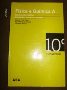 O essencial Fisica e Quimica A 10º ano