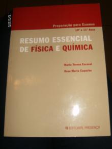 Resumo Essencial de Fisica e Quimica