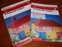 A casa da língua 8 -Exemplar do professor - Sofia Melo