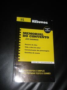 Memorial do Convento- colecção resumos