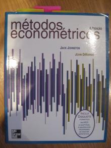 Métodos Econométricos - Jack Johnston