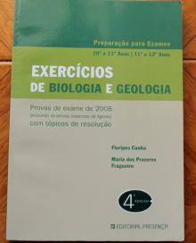 Preparação para exames 10º e 11º anos, Exercícios de biologia e de geologia - Floripes Cu