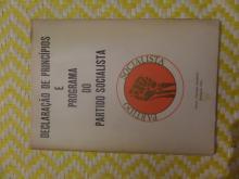Declaraçao de Principios e Programa do Partido Socialista - 1973 EDITADO NA CLANDESTINIDADE EM SETEMBRO DE 1973