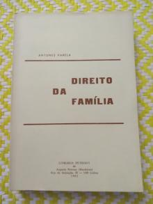 O DIREITO DA FAMÍLIA – Antunes Varela