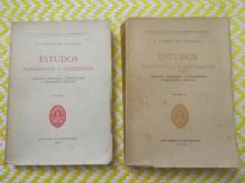 Estudos Filosóficos E Históricos - Volume I - Volume Ii - Artigos, Discursos, Conferências E Recensões Criticas L. Cabral de Moncada - L. Cabral de Moncada