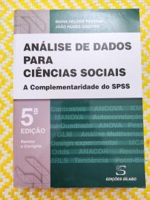 ANÁLISE DE DADOS PARA CIÊNCIAS SOCIAIS - Maria Helena Pestana e Jo...