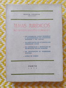 TEMAS JURÍDICOS NO DIREITO PORTUGUÊS E COMPARADO