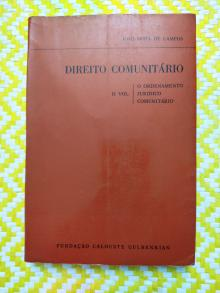 DIREITO COMUNITÁRIO - II VOL