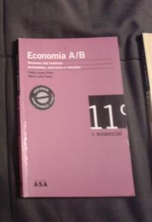 Economia A/B : Resumos e exercícios - Pedro Lemos Pinto, Mari