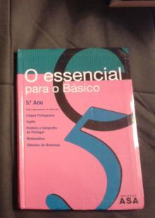 O Eessencial para o básico, 5º ano ( Contém várias disciplinas) - Vários