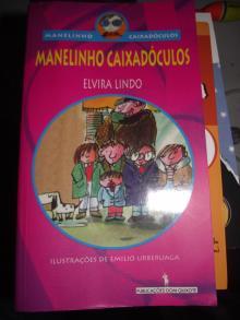Manelinho Caixadóculos - Elvira Lindo