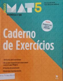 Mat5 - Caderno Exercícios