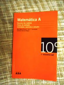 Matemática A O essencial - Ana Maria Pi