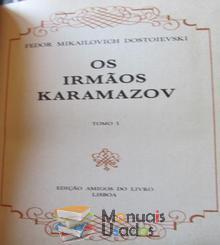 Os irmãos Karamazov Tomo 1 - Fedor M. Dos