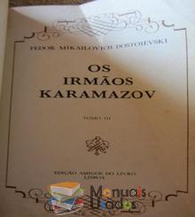 Os irmãos Karamazov Tomo e