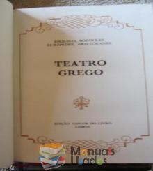 Teatro Grego - Ésquilo, S�