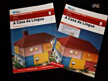 Manuais de língua portuguesa 8º - A casa da língua