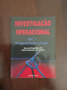 Investigação Operacional Vol1 Programação Linear