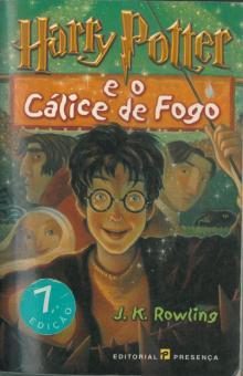Harry Potter e o Cálice de Fogo - J. K. Rowl