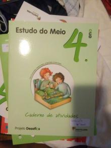 Alfa Cadernos de atividades Estudo do Meio 4 - Dina Guimarães, Helena N...