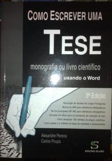 Como escrever uma tese monografia ou livro técnico usando word - Alexandre P