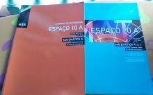 Livro de Matemática Espaço 10A - Belmiro Costa