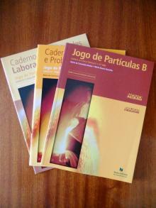 Jogo de partículas b química b - Maria da Concei�