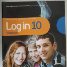 Log in 10 - livro de fichas - Mª Emília