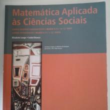 Matemática Aplicada às Ciências Socias - Elisabete Lo