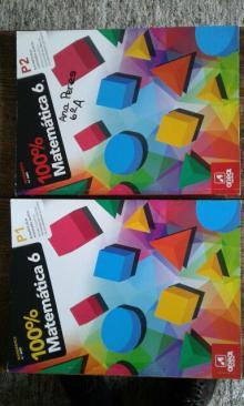100% Matematica 6 - Parte 1 e 2 - Elisabete Beja e Alexandr...