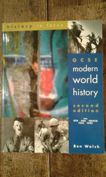 GCSE Modern World History (second edition) - Ben Walsh