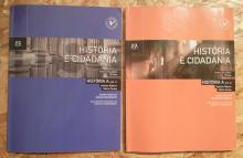 História e Cidadania vol1 + Vol2 - Avelino Ribeiro; Mário C...
