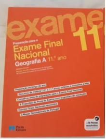 Preparação para o exame nacional Geografia A 11º Ano - Adelaide Queirós