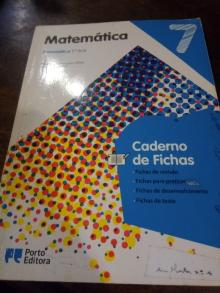 Matemática - 7.º Ano